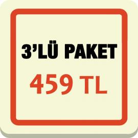 3'lü Paket