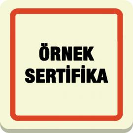 Örnek Sertifika